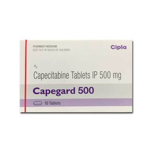 Capegard 500 Tablet(Capecitabine (500mg)- Cipla Ltd)