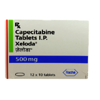 Xeloda 500mg Tablet(Capecitabine (500mg)- Roche Products India Pvt Ltd)