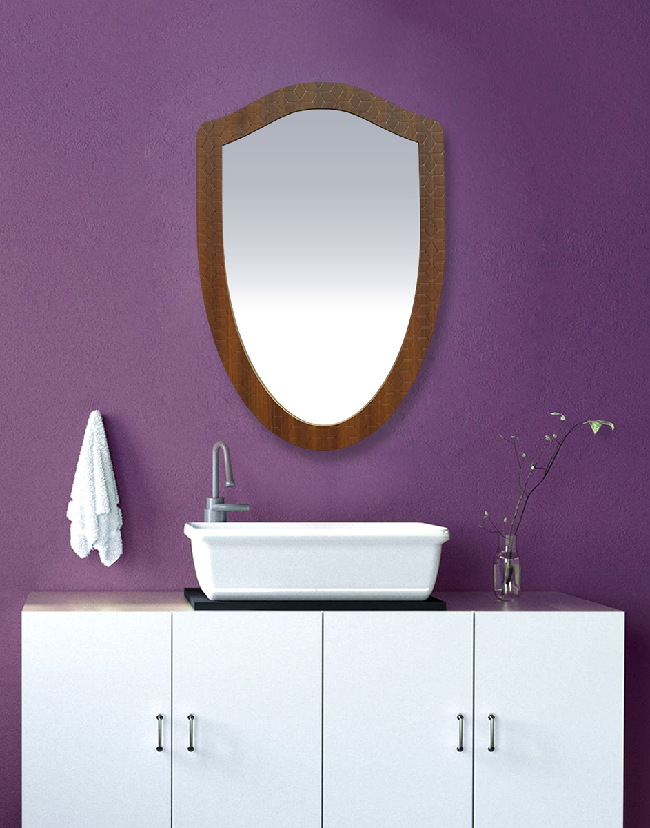 Designer Wood  Mirror