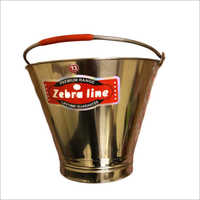 Zebraline Stainless Steel Bucket