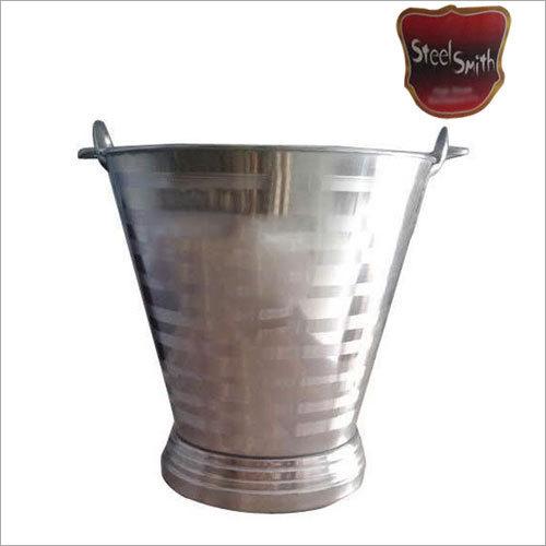 SS Polished Bucket