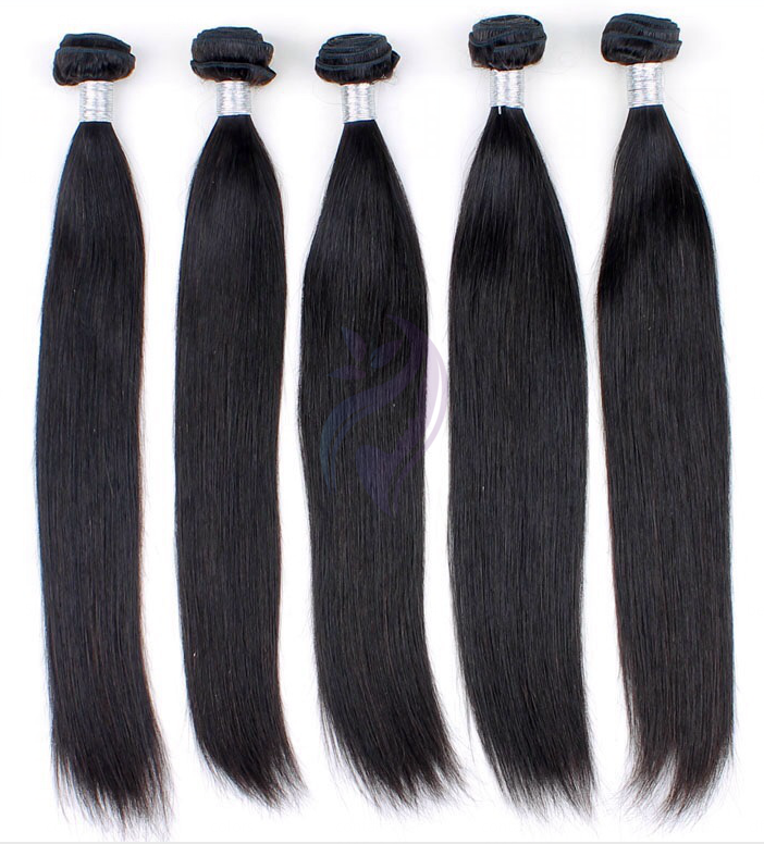 Single Machine Weft Straight Hair