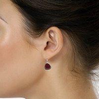 Garnet Quartz Earring PG-122597
