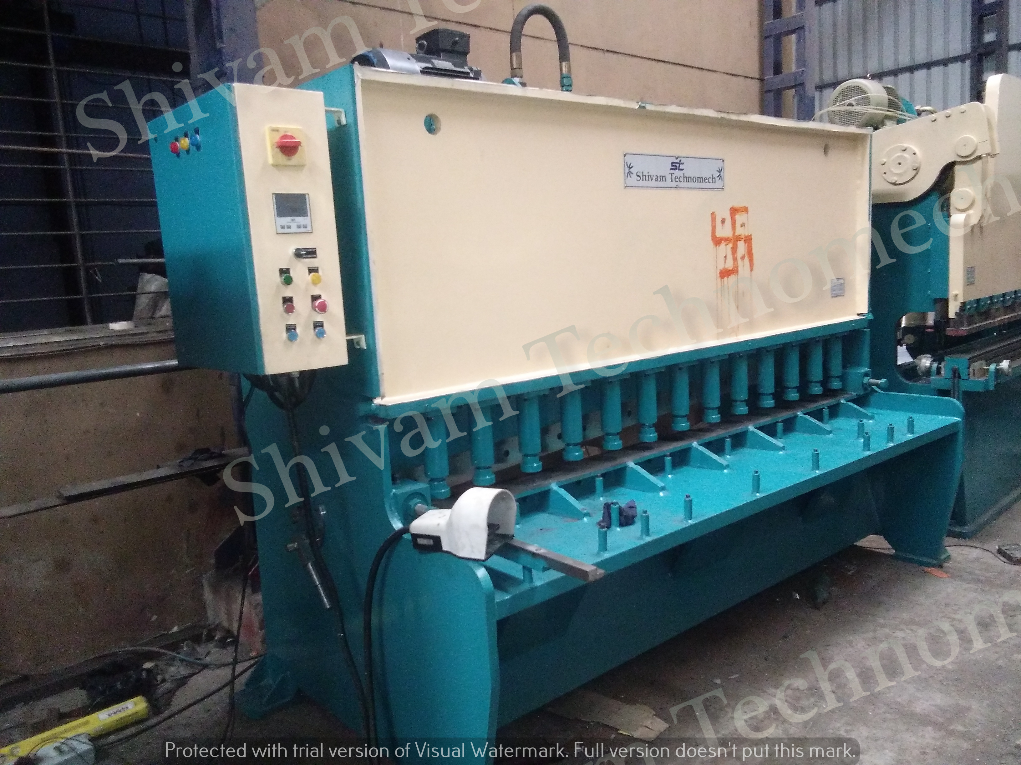 MS Sheet Cutting Machine