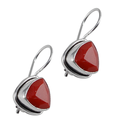 Red Quartz Earring PG-122600