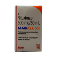 Maball 500mg Injection(Rituximab (500mg)-Hetero Drugs Ltd)