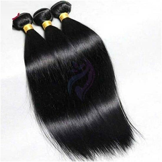 Double Machine Weft Straight Hair