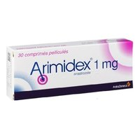 Arimidex 1mg Tablet(Anastrozole (1mg)- AstraZeneca)