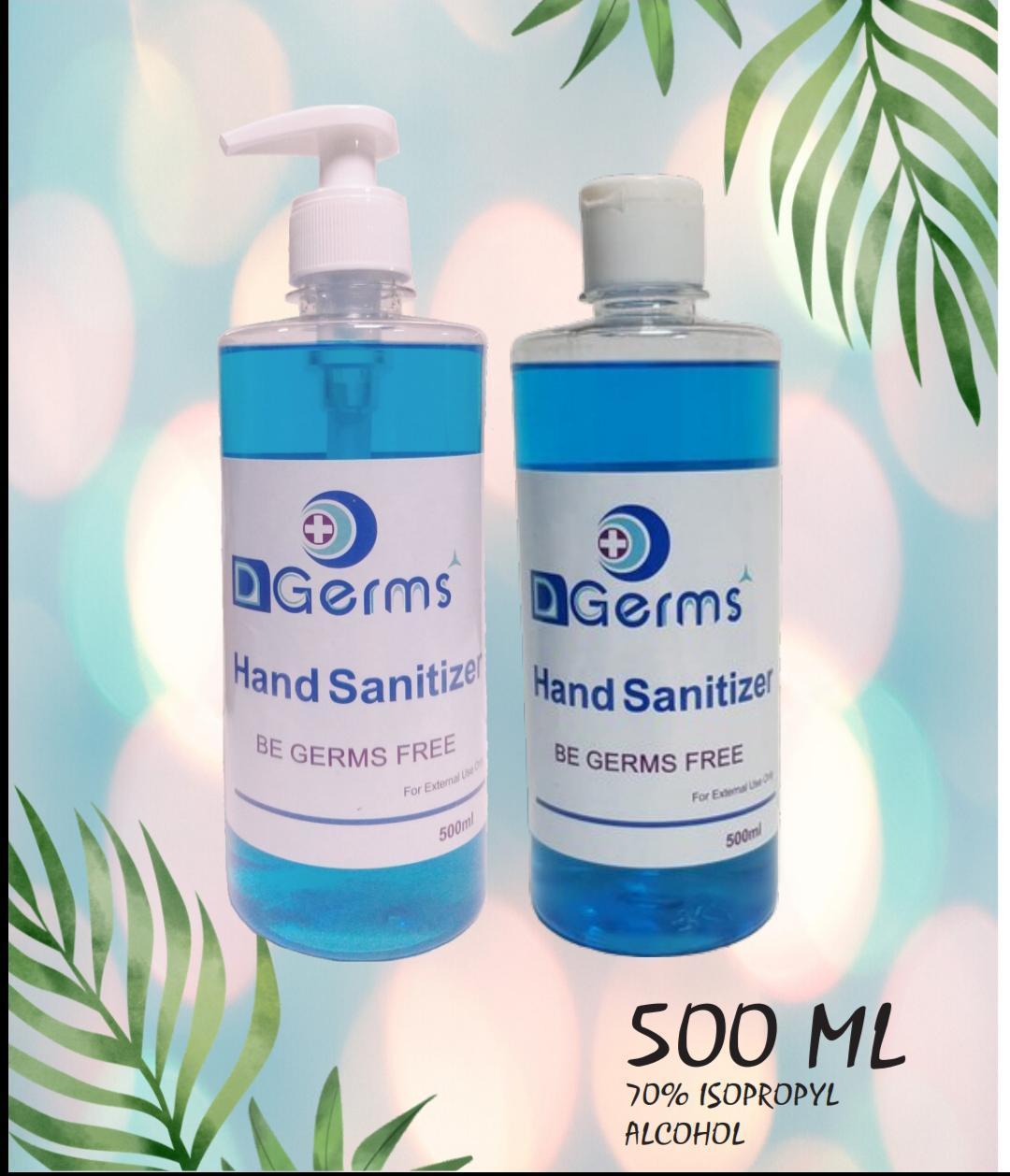 D Germs HAND SANITIZER GEL