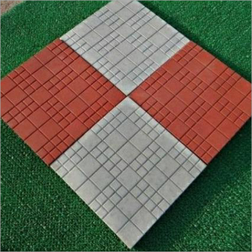 Parking Chequered Tile