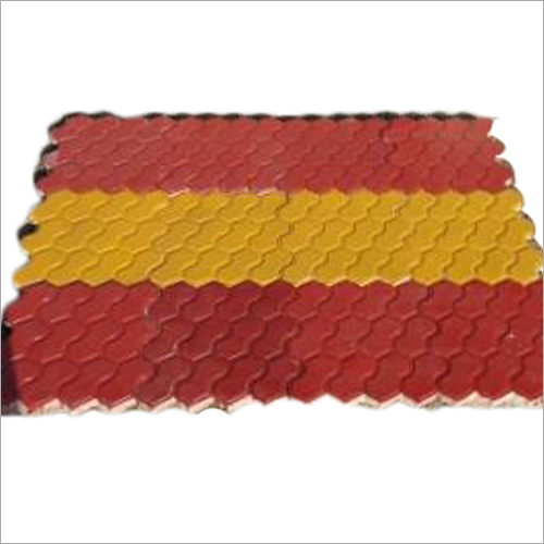 Outdoor Chequered Tile