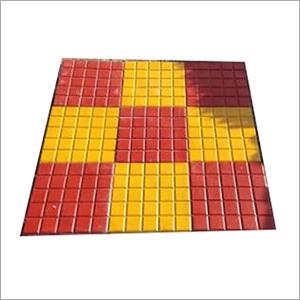 Cadbury Shape Chequered Tile