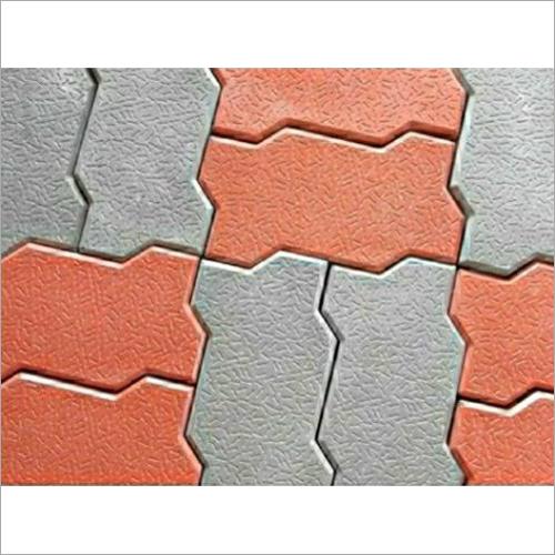 Concrete Zig Zag Paver Block