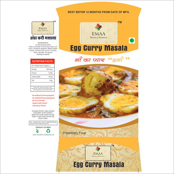 Egg Curry Masala