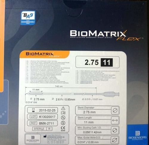 Biomatrix Flex Drug-eluting Stent