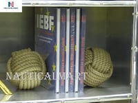 NauticalMart Nautical Bookends - Rope Bookends - Nautical Gift - Knot Bookends - Bookends