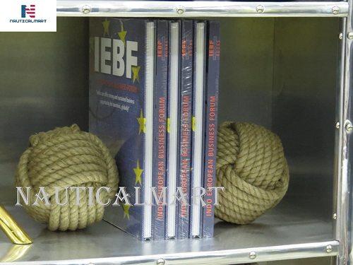 NauticalMart Nautical Bookends - Rope Bookends - Nautical Gift - Knot Bookends - Bookends