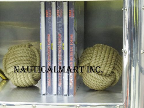 Nauticalmart nautical bookends rope bookends nautical gift knot bookends