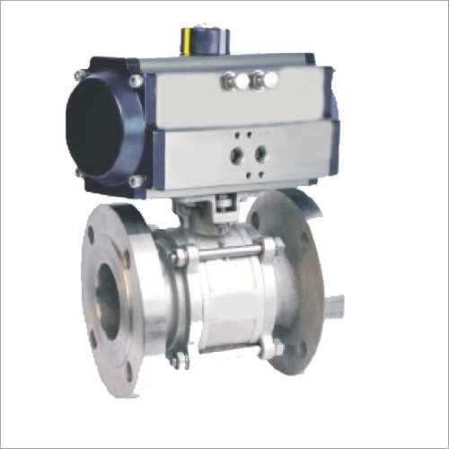 Industrial Actuated Ball Valve