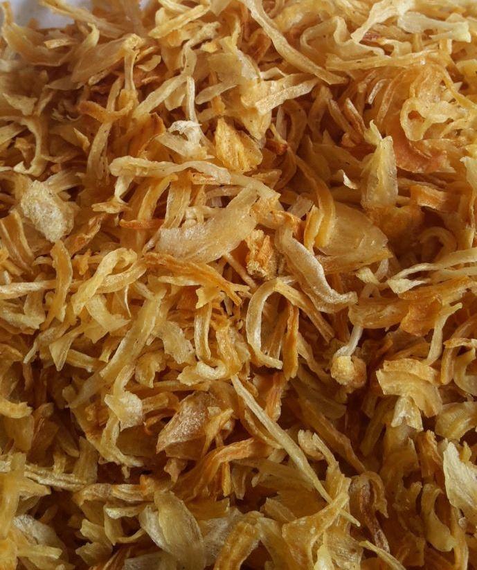 Dehydrate Fried Onions
