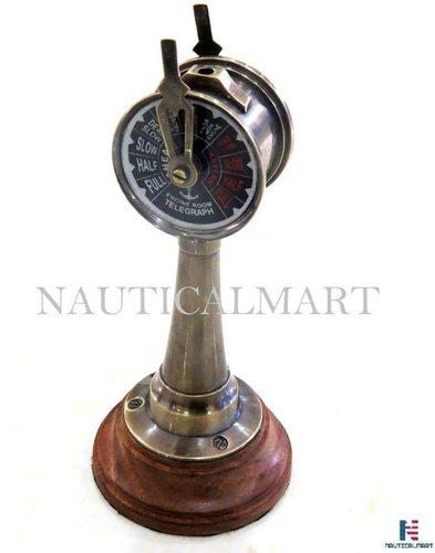 Maritime Nautical Brass Ship Telegraph 6