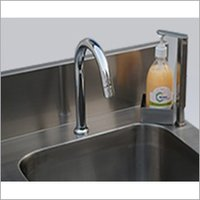 Foot Operated Soap And Water Dispenser