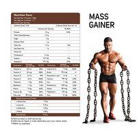 Muscle Mass Gainer (French Vanilla Cream) 3 Kg
