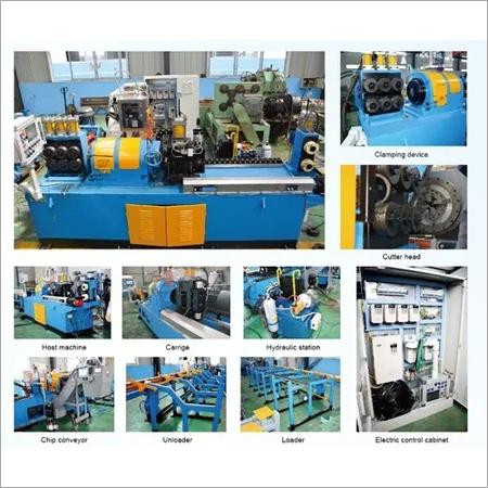 WXC350CA  Mild Steel Bar Peeling Machine