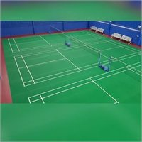 Badminton Court Flooring Supplier