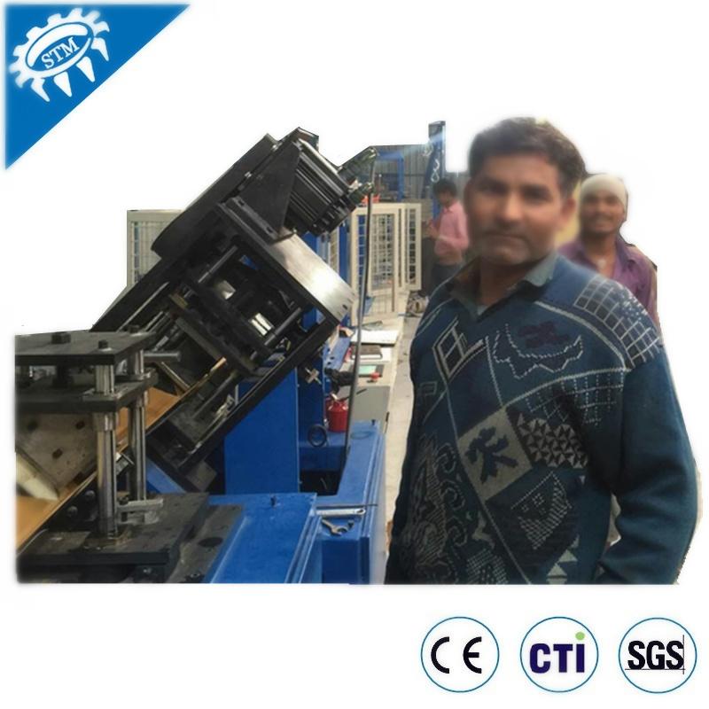 China edgeboard angle board die notching machine