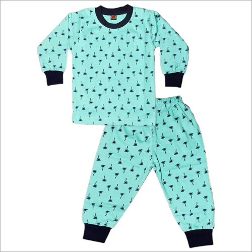 Baby Night Suit Top And Pajamas