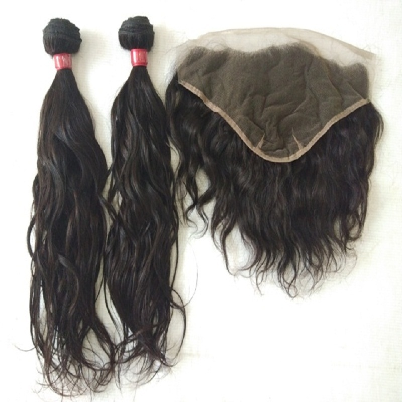 Wavy Machine Weft Human hair