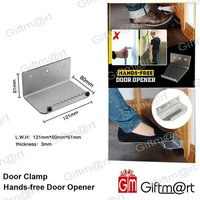 Door Clamp Hands Free Door Opener