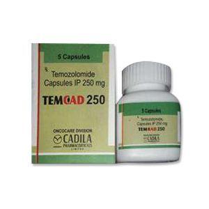 Temcad 250mg Temozolomide Capsules