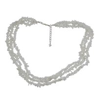 Rainbow Moonstone  Chips Necklace PG-131529