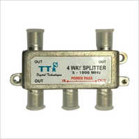 4 Way Power Pass Splitter Housing