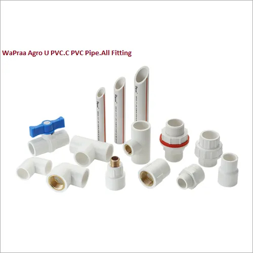 Agro U PVC Pipe All Fitting
