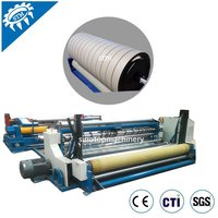 PLC control China paper slitting rewinding machine for edge board production