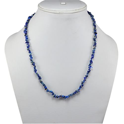 Sodalite Gemstone Chips Necklace PG-131540