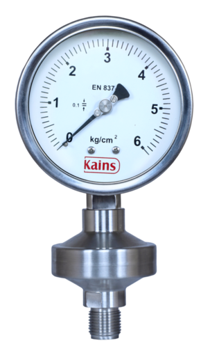 Sealed Diaphragm Pressure Gauges
