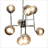 Metallic Hanging Pendant Light