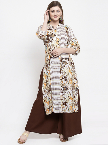 DIGITAL RAYON PRINTED KURTIS
