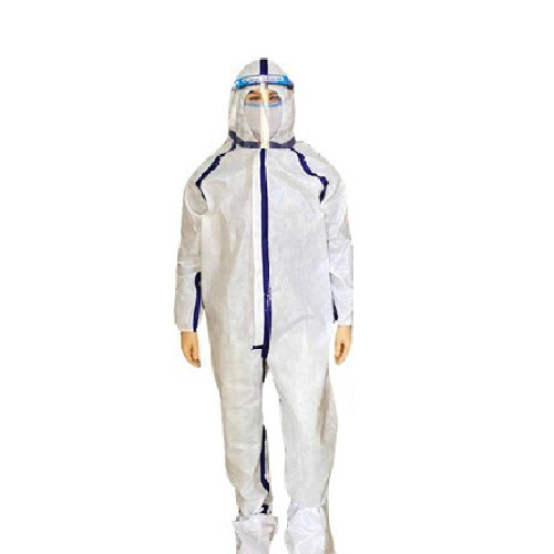 PPE Kit and White Coverall