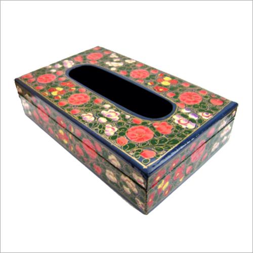 Paper Mache Tissue Box