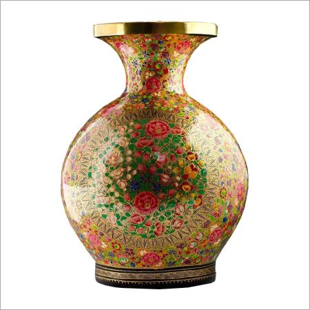 Paper Mache Flower Vase