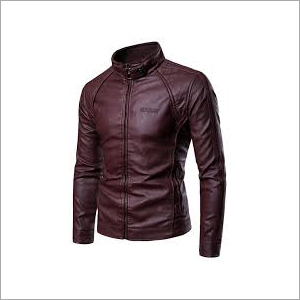 Mens Party Wear Leather Jacket