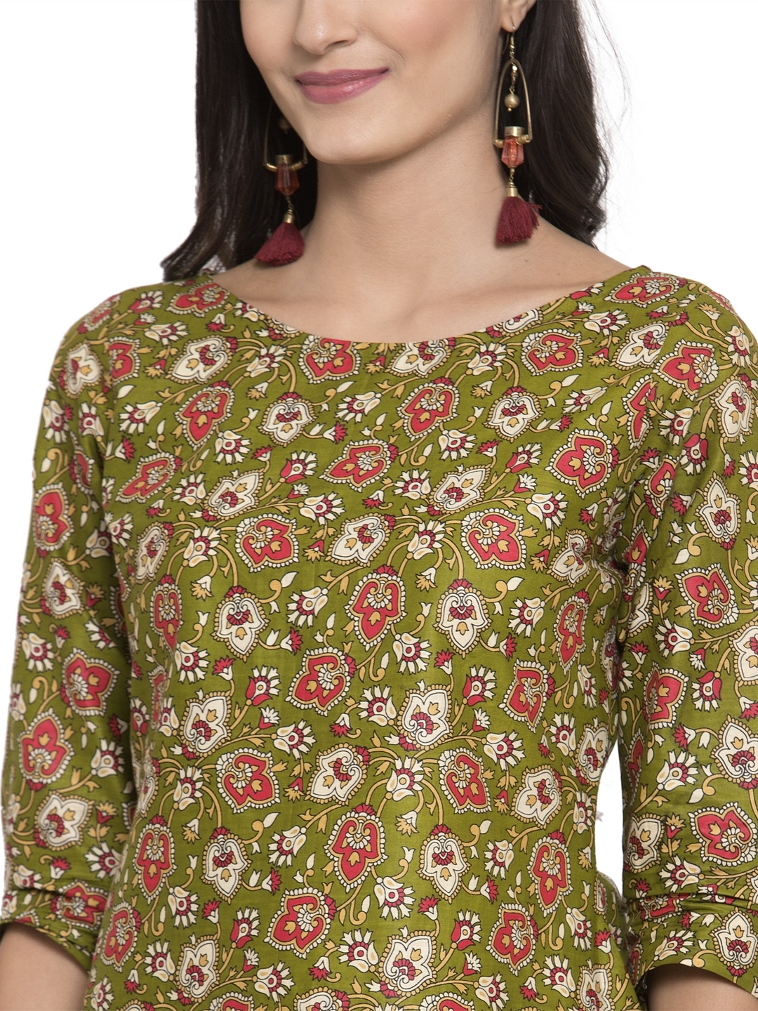 Pure Cotton kurtis with palazzo set
