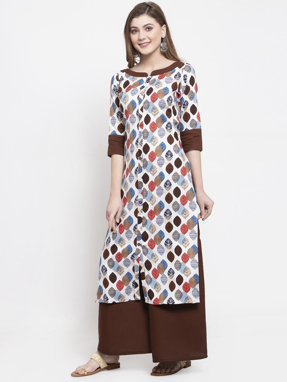 Ladies Rayon Designer Kurta Set