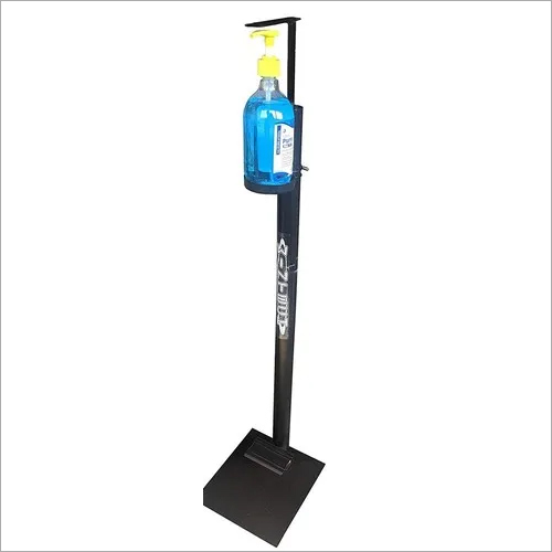 foot operated sanitizer machine