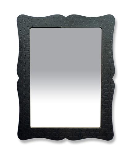 decorative wood  mirror